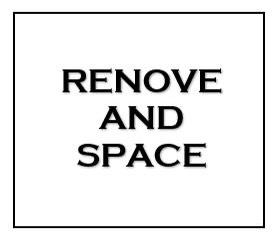 RENOVE&SPACE